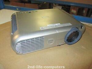 Image Is Loading Toshiba Tlp 660 Projector Xga 1100 Lumens