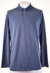Tommy Bahama Herren Polokragen Pullover XL blau Modal gs14