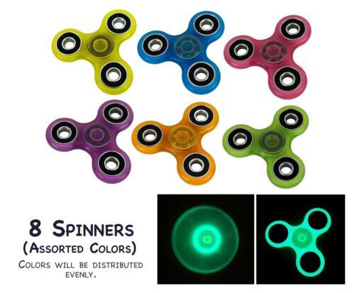 WHOLESALE Fidget Spinner Hand Spinners Toy Stress Relief Focus EDC Glow in Dark