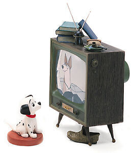 DISNEY-WDCC-COME-ON-LUCKY-TV-101-DALMATIONS-BRAND-NIB-DOG-RARE-FREE-SHIPPING