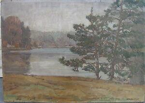 KARL-BEIssWANGER-1877-PFAFFENSEE-OLGEMALDE-SIGNIERT-LANDSCHAFT-IMPRESSIONIST