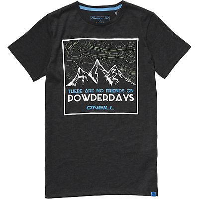T-shirts, Polos & Hemden O'neill T-shirt Shirt Lb Powderdays S/slv T-shirt Schwarz Unifarben Kindermode, Schuhe & Access.
