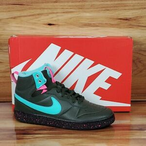 Nike-Air-Court-Borough-Mid-2-Boot-GS-034-Miami-Vice-034-Size-7Y-Women-8-5-BQ5440-300