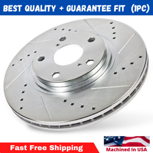 Front 296 mm Quality Brake Disc Rotors For Honda Accord Crosstour CRV Acura RDX