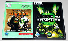 2 PC SPIELE BUNDLE - COMMAND & CONQUER - TIBERIAN SUN & TIBERIUM WARS 3 - KANE