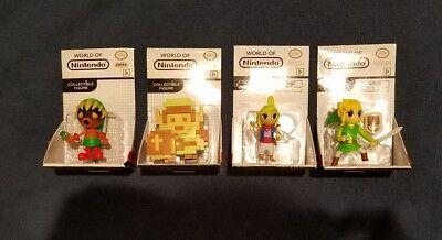 world of Nintendo zelda 2.5 figure set deku link 8 bit tetra