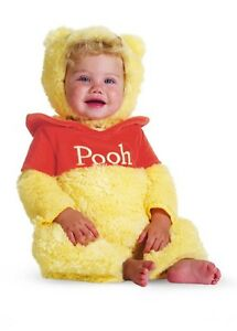 f8f98017238c Winnie The Pooh Bear Plush Costume Infant 6-12M Free Shipping
