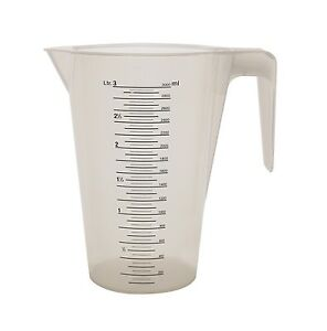 Messbecher-Literbecher-Massbecher-stapelbar-1-bis-5-ltr-Profiqualitaet-PP