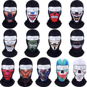 3D-Cycling-Bicycle-Motorcycle-Skull-Cap-Balaclava-Headgear-Hats-Full-Face-Mask