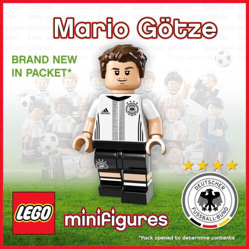 The Mannschaft Mario Götze No.19 German football Genuine Lego Minifigure DFB