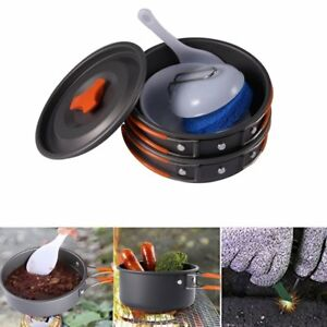 8pcs-Outdoor-Camping-Hiking-Cookware-Backpacking-Cooking-Picnic-Bowl-Pot-Pan-Set