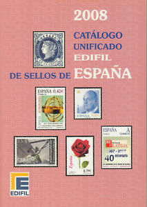 Edifil-2008-Spain-stamps-and-postal-stationery-full-color-priced-in-uros-NEW