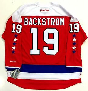 best authentic dec44 5447a Details about NICKLAS BACKSTROM WASHINGTON CAPITALS REEBOK PREMIER HOME  THIRD JERSEY NEW