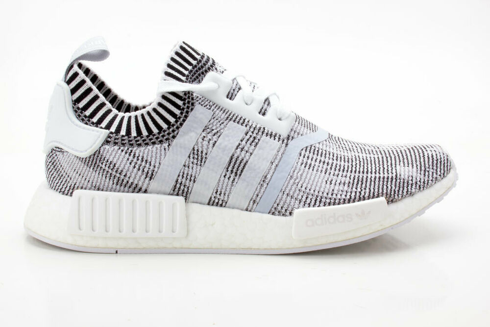 à Condition De Adidas Nmd_r1 Pk Chaussures Unisexe Originals Sneaker By1911 Blanc-noir