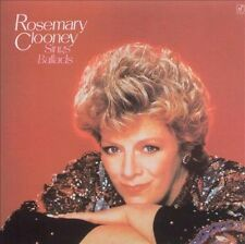 ROSEMARY CLOONEY - ROSEMARY CLOONEY SINGS BALLADS (NEW CD)