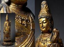 old Japanese, Japan,wooden statue Buddha statue  Kannon Bodhisattva 67cm