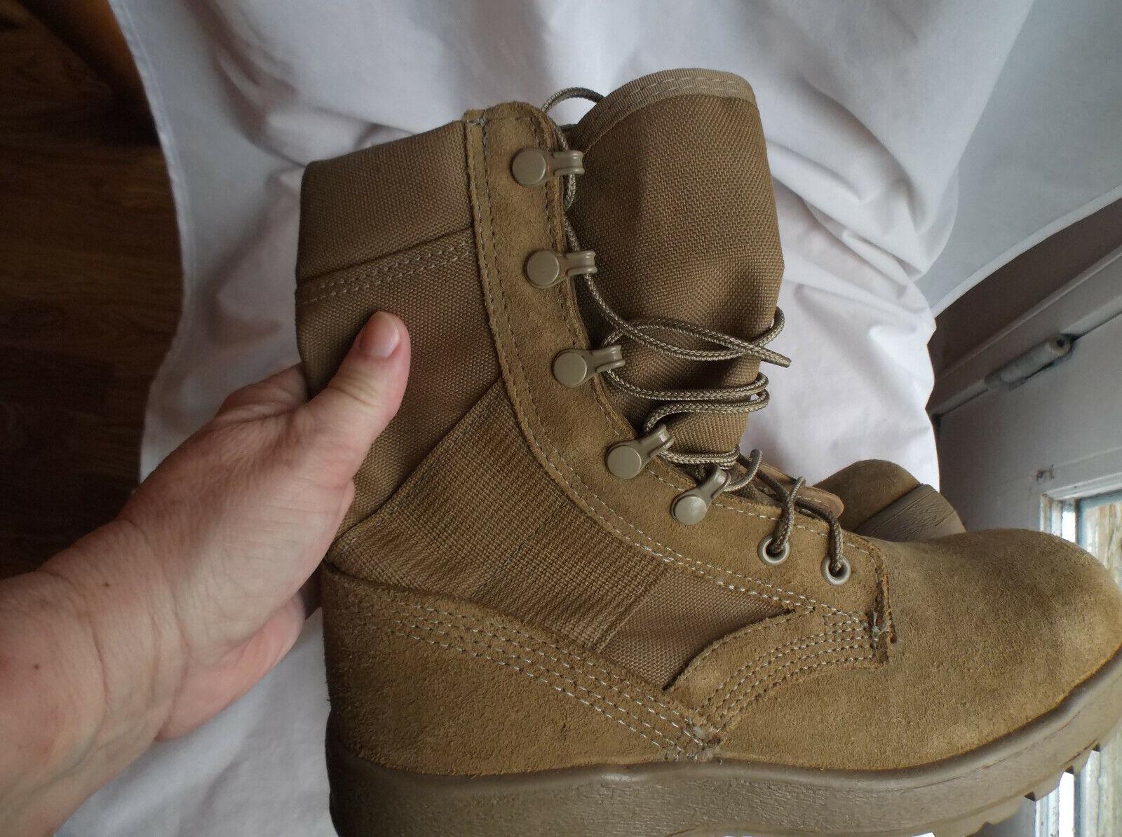Mc Rae 8  Mil-spec clima caliente botas militares, tamaño 6R para Hombre & 8R señoras,  Excelente