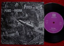 """FOYER DES ARTS penis/vagina 7"""" (1988) MAX GOLDT Christentum  NDW-Gimick"""