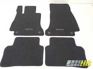 NEU Original Fußmatten Nadelfilz Mercedes E-Klasse W213 S213 CLS C257 Rips Rippe