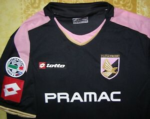 brand new c4656 d327f Details about Cavani 7 maglia Palermo 2008 - 2010 third shirt Lotto player  issue match jersey