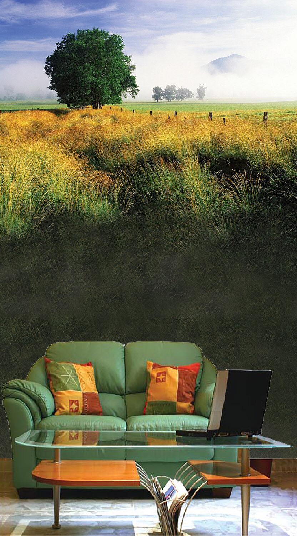 3D Reisfeld Grün Baum 9 Tapete Wandgemälde Tapete Tapete Tapete Tapeten Bild Familie DE Summer   Qualität Produkte     fbda12