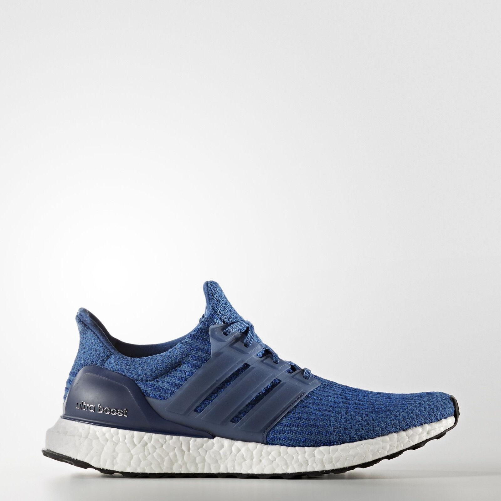Adidas Mens Ultra Boost Mystery Blau Running schuhe BA8844 UltraBOOST