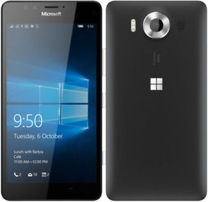 Microsoft-Lumia-950-RM-1105-4G-LTE-Windows-10-GSM-Unlocked-Smartphone-Black-L-N