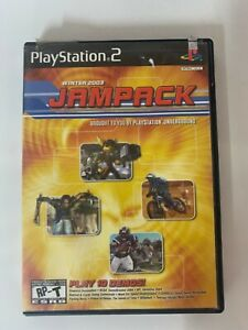 Winter 2003 Jampack  Play Station 2 Used Game A07