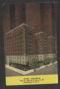 1940s-HOTEL-ANNAPOLIS-WASHINGTON-DC-POSTCARD