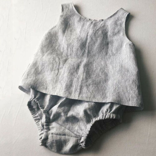 2PCS Newborn Baby Girl Kids Summer T-Shirt Tops Short Pants Outfits Set Clothes