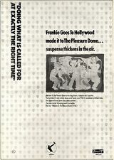 10/11/84pg9 Album Advert 15x10 Frankie Goes To Hollywood, Welcome To The Pleasur