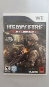 Heavy-Fire-Afghanistan-Video-Game-Nintendo-Wii-2009-Game-Disc-amp-Case-Only