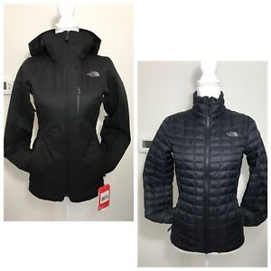 e5297a86c Details about The North Face Women's Thermoball Snow TriClimate Parka TNF  Black Sz XS $349