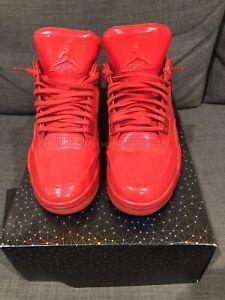 quite nice 375f4 cb3e5 Image is loading Nike-Air-Jordan-11-Lab4-University-Red-Size-