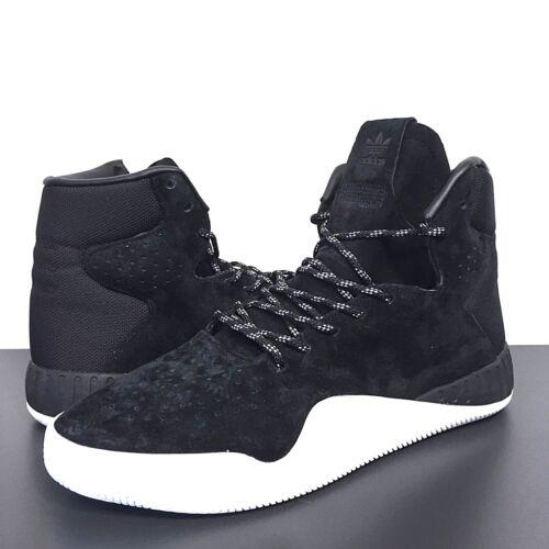 ADIDAS Mens Originals Tubular Instinct S80085 Black Hightop Sneakers MSRP $120