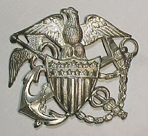 WW2-US-Public-Health-Service-Sterling-Hat-Badge-Blackinton