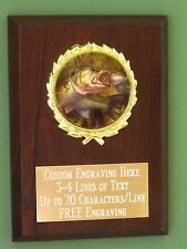 Fishing Perpetual 15 Year Award Plaque Engraving Trophy for sale