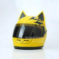 DuRaRaRa !! Celty Sturluson Motor Helmet Halloween Cosplay Prop Dark Brown Lens