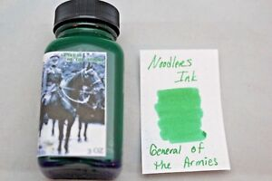 NOODLERS-FOUNTAIN-PEN-INK-3-OZ-BOTTLE-GENERAL-OF-THE-ARMIES