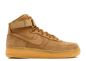Details about Nike Air Force 1 High '07 LV8 Wb Wheat Flax Gum Brown 882096 200 Men size 8 13