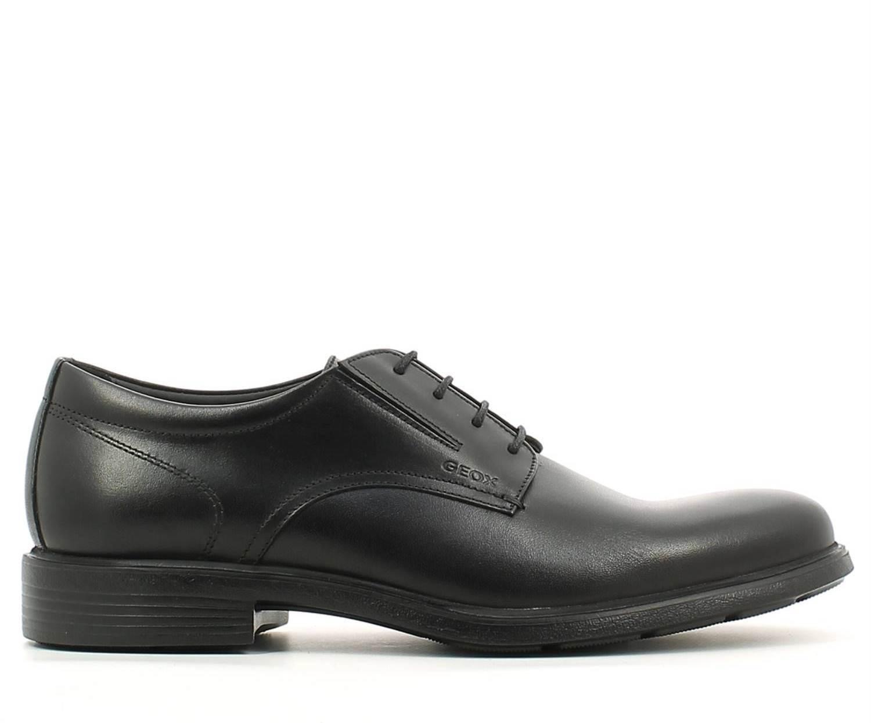 GEOX Scarpe da uomo eleganti nere in pelle Nero Derby Derby Derby Calzature classiche 42 43 | Di Modo Attraente  | Uomo/Donne Scarpa  a66931