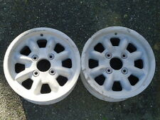 Pair of GP1 6 x 13 Magnesium Minilites Mag Ford Fit Rally Race
