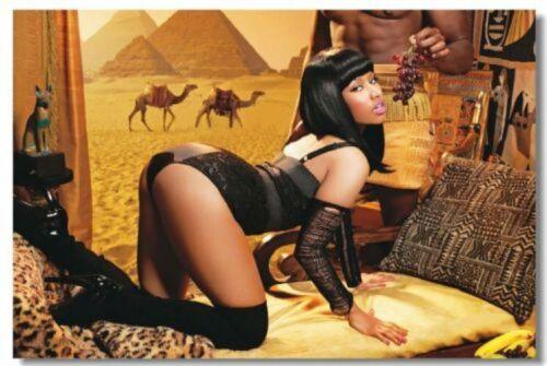 516 Nicki Minaj Art Wall Cloth Poster Print