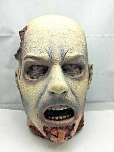 Men's latex Zombie Head