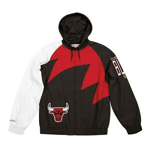 Mitchell & Ness Shark Tooth Jacket Chicago Bulls *NEW*