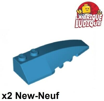 2x Wedge 6x2 right droit brique brick rouge//red 41747 NEUF Lego