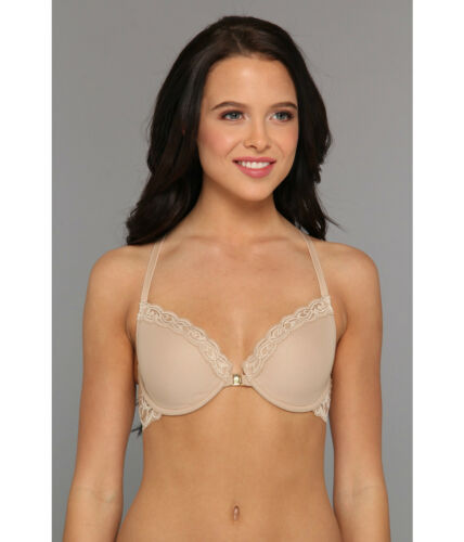 Women S Lingerie Nightwear New Natori Feathers Racerback Bra 735023 Nude Size 32ddd Nwot 68 Vildora
