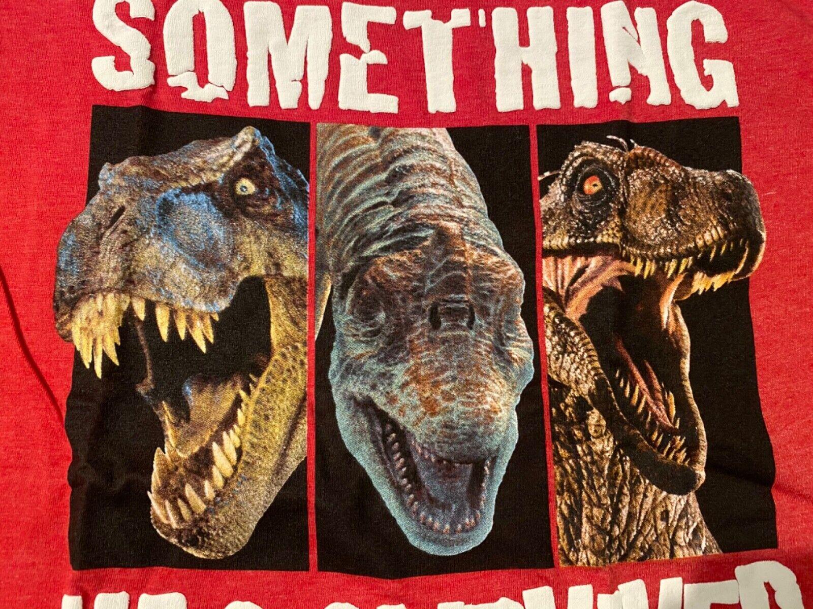 Details about  /JURASSIC PARK World 2 3 movie T-Rex dinosaur New BOY/'S Youth T-Shirt