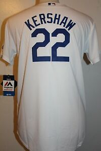 5c69dabbb5a Los Angeles Dodgers Clayton Kershaw  22 Cool Base YOUTH (Sz 8-20 ...