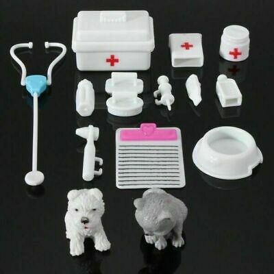 Unisex Medical Equipment Doll Barbie Play Set Christmas Gift Toys Accessories